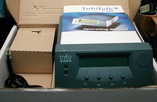 Picture of: innomedia infotalk it 3000 voice over ip voip dial-up and tech talk, comments, help & reviews.