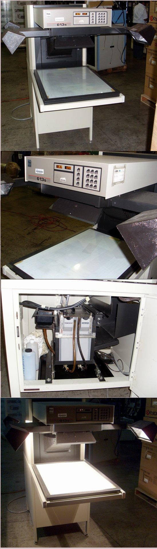Picture of: itek graphix 613s platemaker photo plate processor 613 s and tech talk, comments, help & reviews.