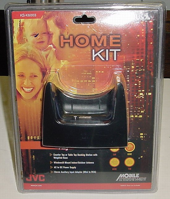 Picture of: jvc ks-k6003 sirius satellite radio plug n play home kit  and tech talk, comments, help & reviews.