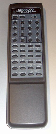 Picture of: kenwood rc-p0201 cd player remote control and tech talk, comments, help & reviews.