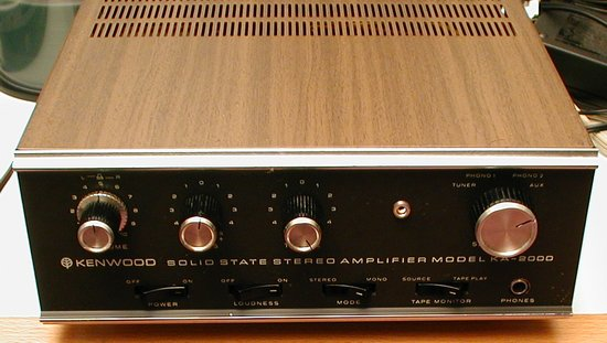 Picture of: kenwood ka-2000 mini solid state amplifier 15w/ch  and tech talk, comments, help & reviews.