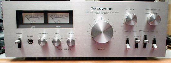 Picture of: kenwood ka-5700 integrated stereo amplifier vintage amp and tech talk, comments, help & reviews.