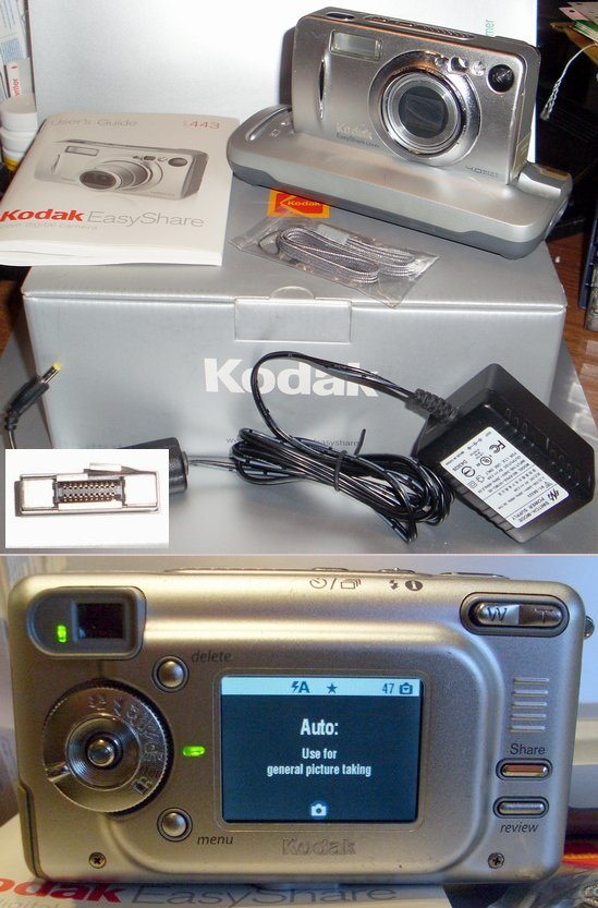Picture of: kodak easyshare ls443 zoom digital camera 4.2 megapixel and tech talk, comments, help & reviews.