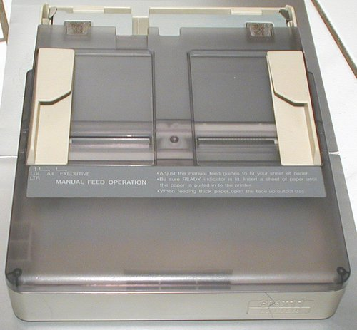 Picture of: panasonic kxp-4420 laser partner laser printer paper tray and tech talk, comments, help & reviews.