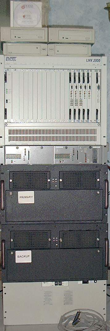 Picture of: telephony switch excel lnx-2000 24-t1 lnx-ex cpu mfdsp card cms-2000 software and tech talk, comments, help & reviews.
