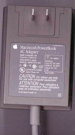 Picture of: mac powerbook ac power adapter model m5652 / aps-46u power supply and tech talk, comments, help & reviews.