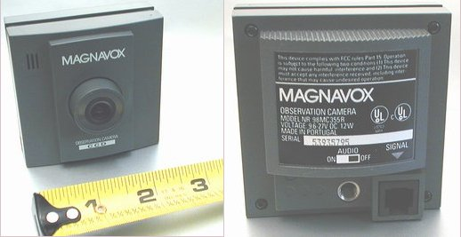 Picture of: magnavox observation camera 98mc355r cctv surveillance and tech talk, comments, help & reviews.