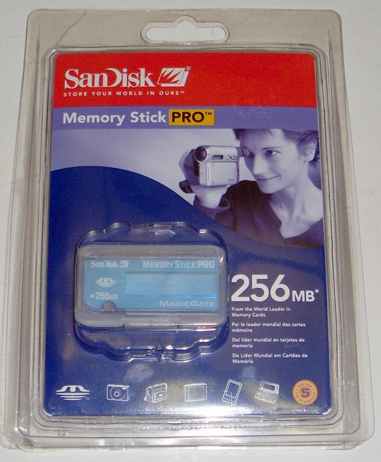 Picture of: sandisk 256mb memory stick pro magicgate new nib and tech talk, comments, help & reviews.