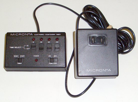 Picture of: micronta electronic countdown timer  and tech talk, comments, help & reviews.