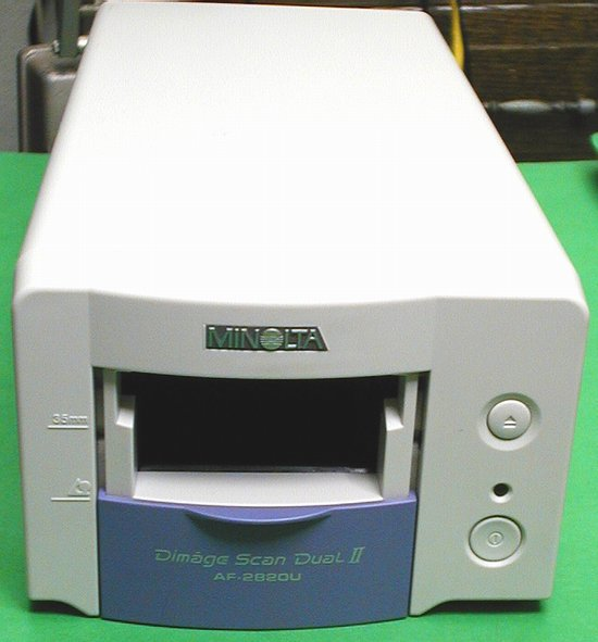 Picture of: minolta dimage scan dual ii af-282ou - slide / film scanner and tech talk, comments, help & reviews.