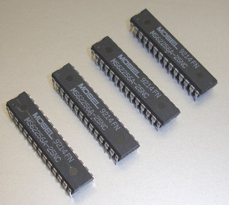 Picture of: vintage cache memory ms62256a-25nc 32k x 8 high speed cmos static ram and tech talk, comments, help & reviews.