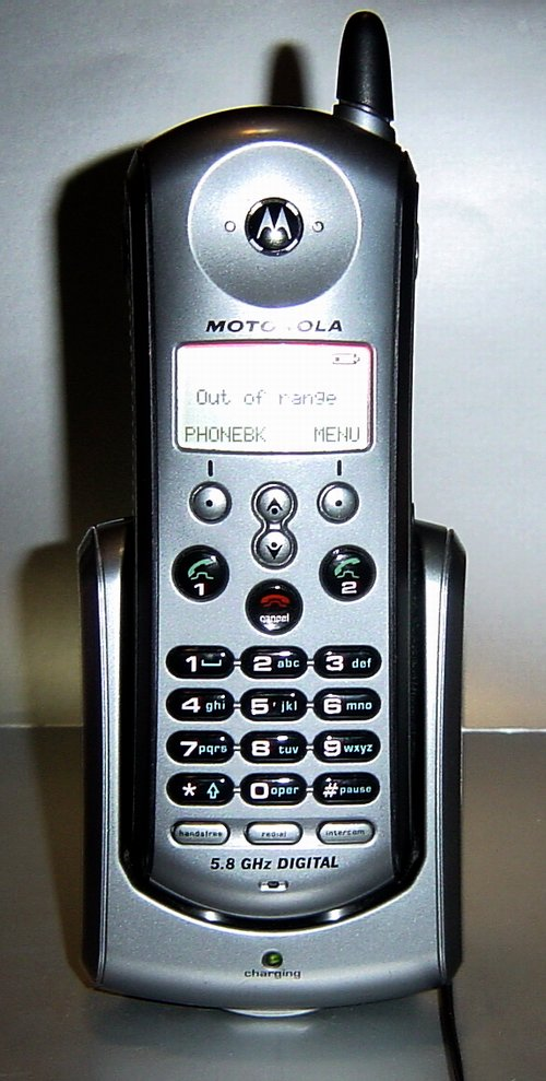 Picture of: motorola c70 md7001 5.8 ghz cordless expansion handset md7081 and tech talk, comments, help & reviews.
