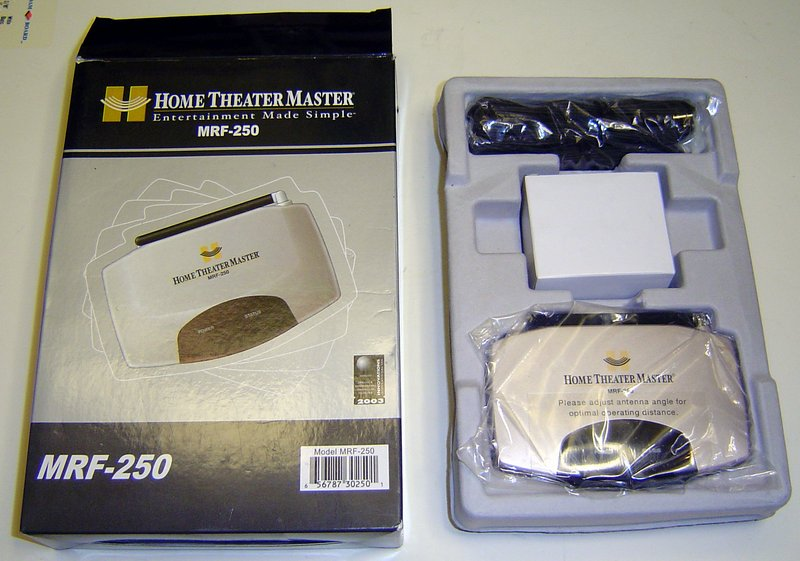 Picture of: home theater master mrf-250 remote control base station and tech talk, comments, help & reviews.