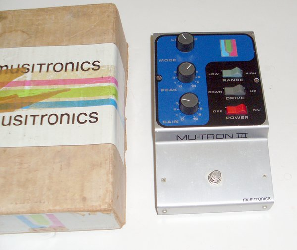 Picture of: mu-tron iii musitronics clean vintage mutron 3 in box and tech talk, comments, help & reviews.
