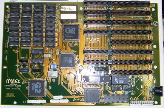 Picture of: vintage mylex 80286 pc motherboard 8,16-bit isa 1mb ram 286 at and tech talk, comments, help & reviews.