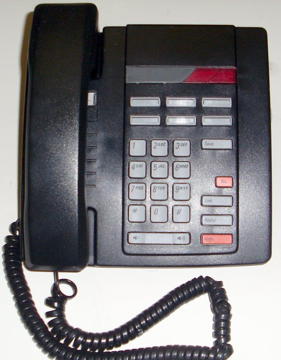 Picture of: nortel meridian m8009 phone telephone black nt2n24ad1141 and tech talk, comments, help & reviews.