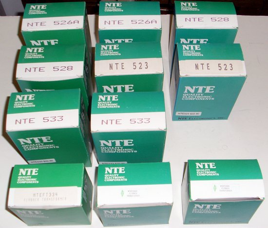 Picture of: nte flyback replacement lot 528,533,526a,533,fc680,ft334 and tech talk, comments, help & reviews.