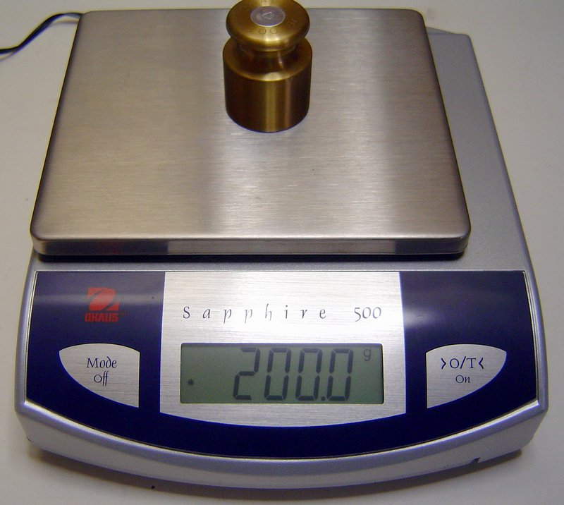 Picture of: ohaus sapphire 500 500g x 0.1g jewelry scale and tech talk, comments, help & reviews.