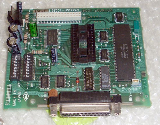 Picture of: okidata 182, 182t, 184 serial card oki interface and tech talk, comments, help & reviews.