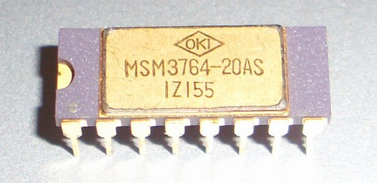 Picture of: oki gold top legs msm3764-20as memory dynamic general purpose  and tech talk, comments, help & reviews.