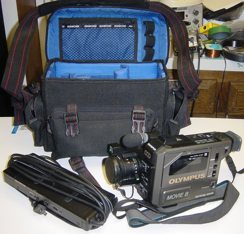 Picture of: olympus vx-802 video movie camcorder camera 8mm and tech talk, comments, help & reviews.