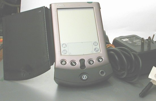 Picture of: palm vx pda with serial cradle for parts or repair and tech talk, comments, help & reviews.