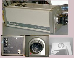 Picture of: vintage panasonic cctv security camera b/w and tech talk, comments, help & reviews.