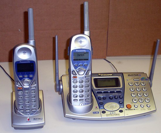 Picture of: panasonic kx-tg2740 kx-tga270s 2.4 ghz 2-line phone cordless and tech talk, comments, help & reviews.