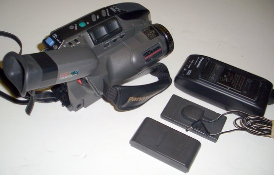 Picture of: panasonic pv-d300 vhs-c video camcorder pv-d300d vhsc and tech talk, comments, help & reviews.