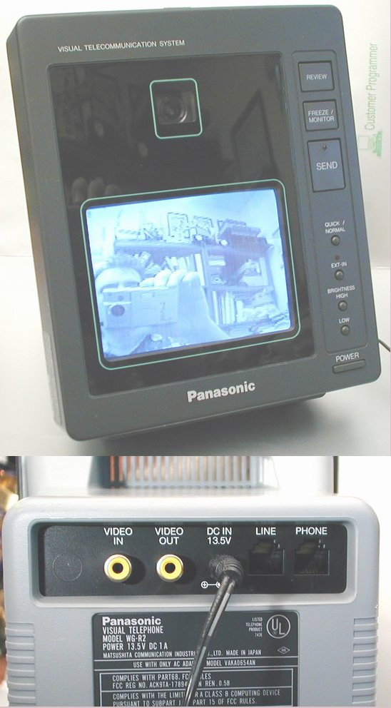 Picture of: panasonic wg-r2 2 way telephone visual communicator wgr2 and tech talk, comments, help & reviews.
