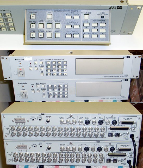 Picture of: panasonic wj-fs616c video multiplexer 616 and tech talk, comments, help & reviews.