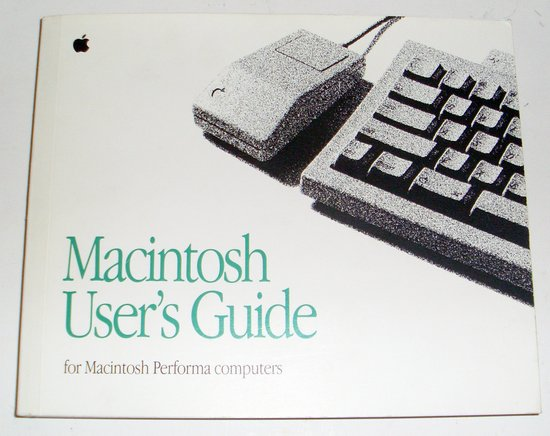 Picture of: macintosh performa user's guide and tech talk, comments, help & reviews.