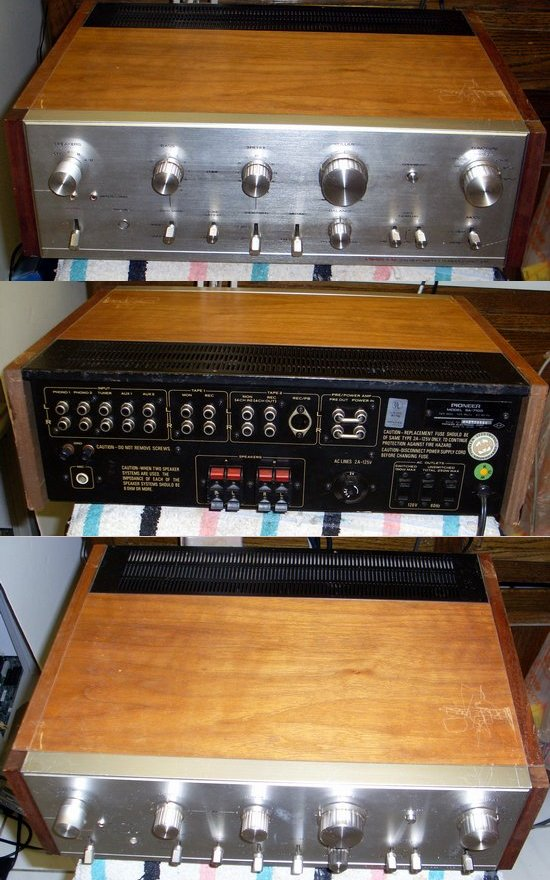 Picture of: vintage pioneer sa-7100 integrated stereo amplifier  and tech talk, comments, help & reviews.