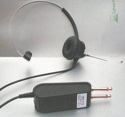Picture of: plantronics supra h52-p10 console type plug headset and tech talk, comments, help & reviews.