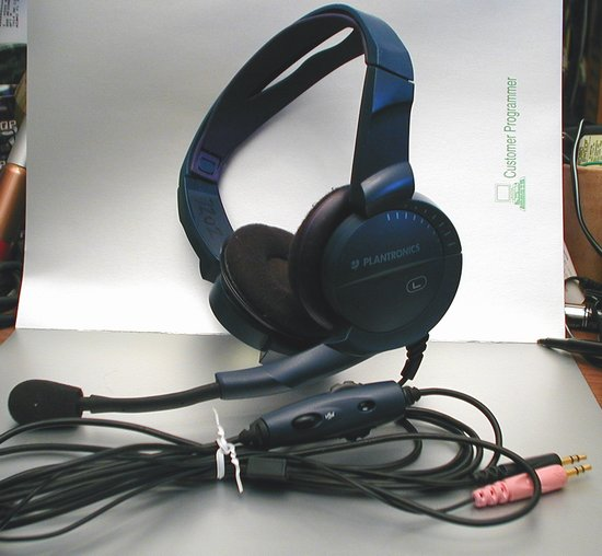 Picture of: plantronics stereo pc headset, like audio 90 and tech talk, comments, help & reviews.