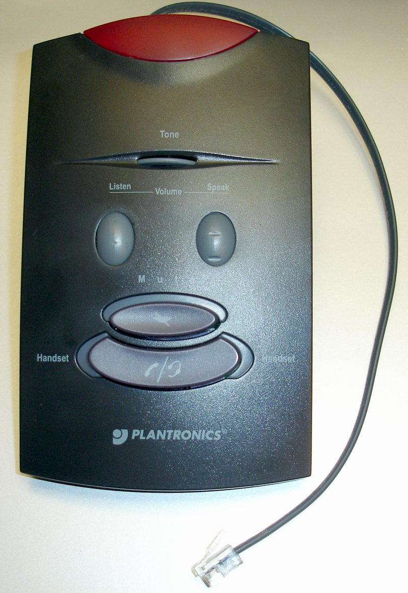 Picture of: plantronics s11 telephone headset amplifier no power supply and tech talk, comments, help & reviews.