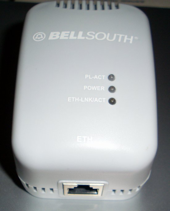 Picture of: bellsouth ethernet to powerline adapter wall mount and tech talk, comments, help & reviews.