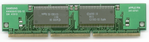 Picture of: apple mac parts power-pc 6100 rom module and tech talk, comments, help & reviews.