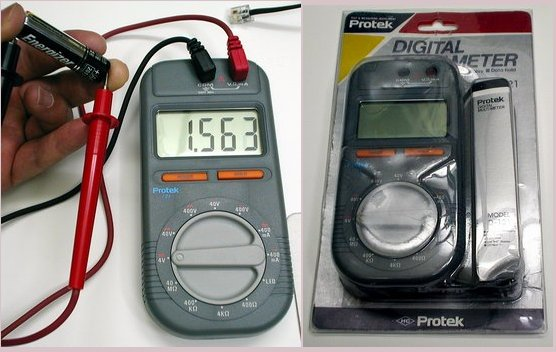 Picture of: protek d-121 digital multimeter test and measuring instrument and tech talk, comments, help & reviews.