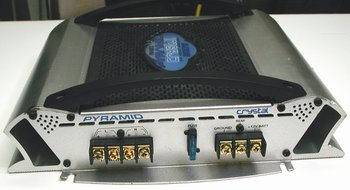 Picture of: pyramid crystal pb481x 600 watt 2 channel bridgeable mosfet amplifier and tech talk, comments, help & reviews.