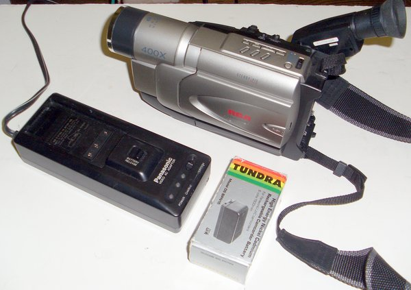 Picture of: rca cc6254 vhs-c camcorder 400x zoom with steady pix and tech talk, comments, help & reviews.