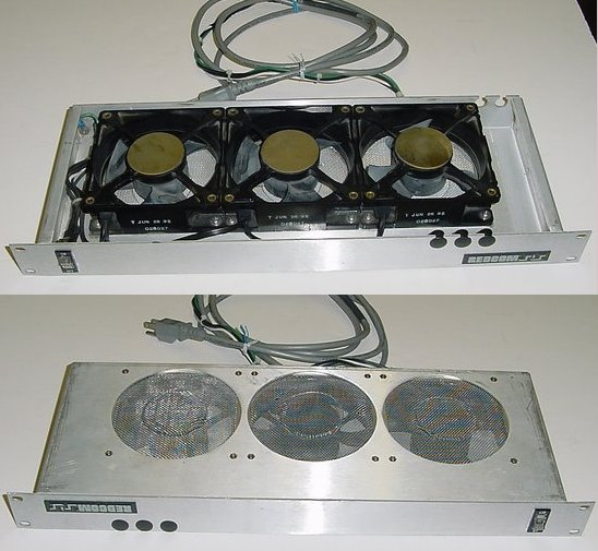 Picture of: 19 rack mount fan frame redcom 3 fan ac ball bearing and tech talk, comments, help & reviews.