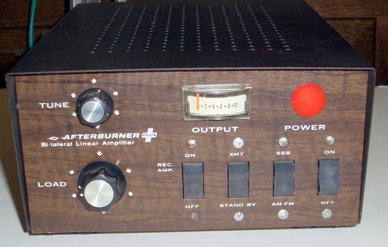 Picture of: afterburner 10 and 6 meter linear base tube amplifier 10mts and tech talk, comments, help & reviews.