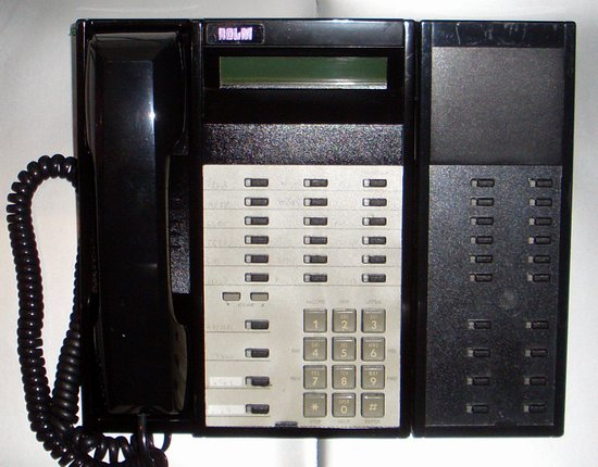 Picture of: siemens/rolm 624l black systems 9005 and higher rp624, rp624l, 624 and tech talk, comments, help & reviews.