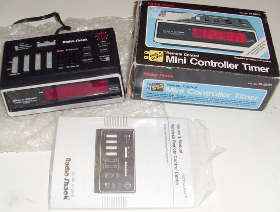 Picture of: radio shack plug 'n power remote controller timer 61-2670 and tech talk, comments, help & reviews.