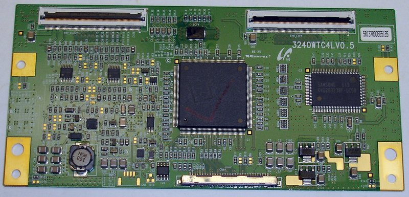 Picture of: samsung 3240wtc4lv0.5 lcd tv control module and tech talk, comments, help & reviews.