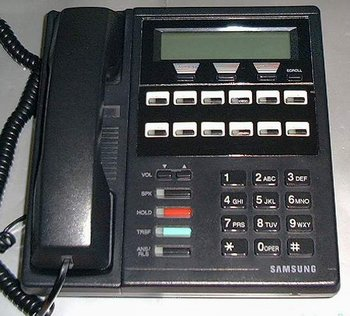 Picture of: samsung dcs prostar system telephone 12b 12 lcd and tech talk, comments, help & reviews.
