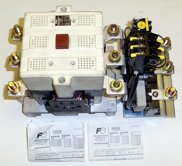 Picture of: magnetic contactor fuji sc-10n sc-n10 and tech talk, comments, help & reviews.