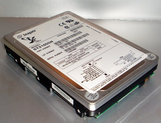 Picture of: hard disk drive seagate  st31055n hawk 2xl 1060mb 3.5/sl scsi 3 ultra and tech talk, comments, help & reviews.