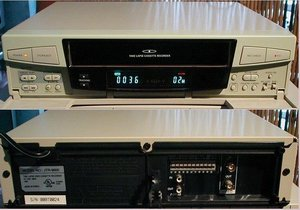 Picture of: secom jtr-9600 time lapse video cassette recorder and tech talk, comments, help & reviews.